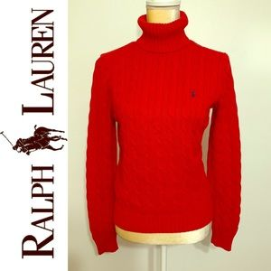 Classic Ralph Lauren Turtleneck Sweater